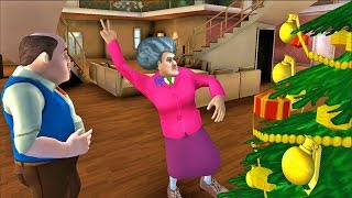 Scary Teacher 3D #New Levels Christmas Tree - Android/iOS Gameplay HD