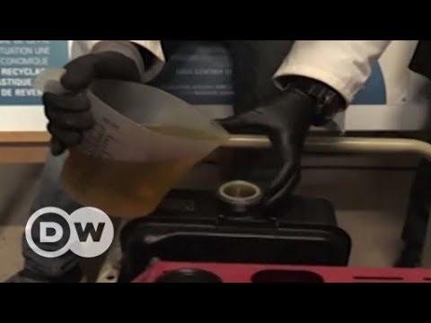 Máquina transforma resíduos plásticos em combustível