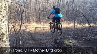 Mother Bird drop: 8-10Ft drop off into the power lines, 2 different lines. Advanced Riders only!