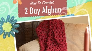 Crochet Quick Afghan