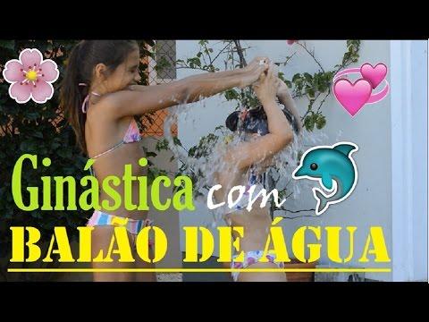 DESAFIO BALÃO COM ÁGUA (COM GINÁSTICA)