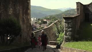 preview picture of video 'Le château fort de Lourdes'