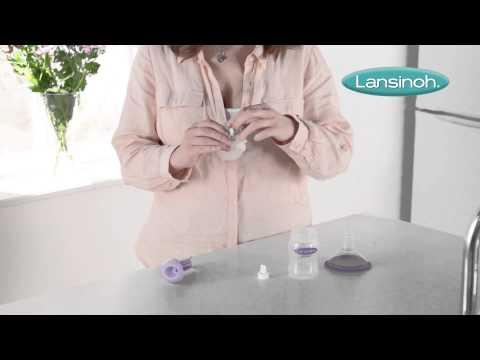 Manual breast pump video