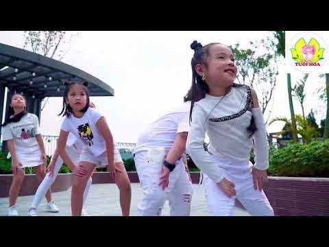 Hướng dẫn nhảy dân vũ Ghen cô Vy với cô Dương Trang - Lớp mẫu giáo lớn A3