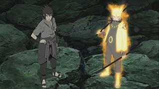 Madara Vs Naruto And Sasuke Full Fight Infinite Tsukuyomi Activates