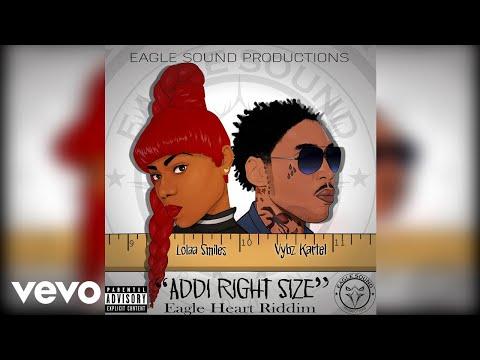 Vybz Kartel, Lolaa Smiles - Addi Right Size (Official Audio)