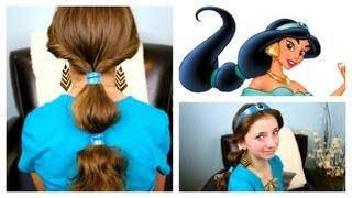 Jasmine Hairstyle Tutorial | A CuteGirlsHairstyles Disney Exclusive
