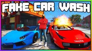 GTA 5 Roleplay - FAKE CAR WASH TROLLING   RedlineRP