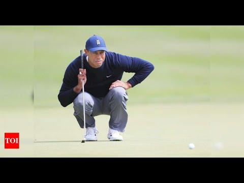 "Tiger Woods makes cut but ""struggles"" on greens at PGA Championship   Golf News – Times of India"