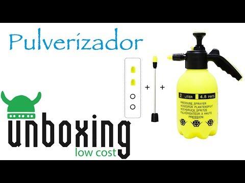 Pulverizador de presión. U&R Low Cost