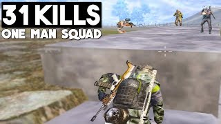31 KILLS SOLO vs SQUAD | PUBG Mobile