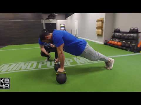 Close Grip Kettlebell Push Up