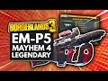 BORDERLANDS 3 | Crader's EM-P5 Mayhem 4 Legendary Weapon Guide