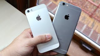 iPHONE 6 Vs iPHONE 5S In 2018! (Review)