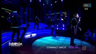Hungary Eurovision 2012:- Compact Disco - Sound of our hearts