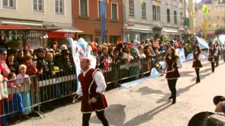 preview picture of video 'Faschingsumzug in Villach 2015  lei-lei'