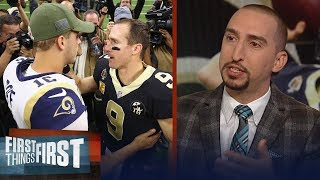 Nick Wright on the Saints handing the Rams their 1st loss of the season | NFL | FIRST THINGS FIRST