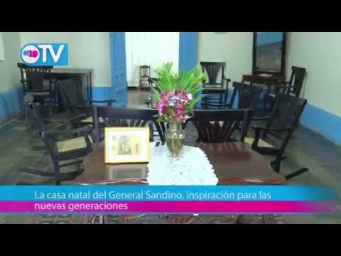 La casa natal del General Sandino, inspiración para las nuevas generaciones
