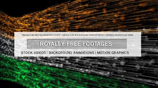 Independence day background video effects | Tiranga Indian flag animation video | #IndependenceDay