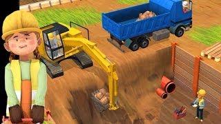 Little Builders App - Trucks, Cranes & Diggers | Top Best Apps For Kids