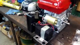 EBERTH 6.5 HP ARRANQUE ELECTRICO.