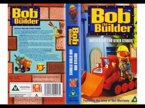 Bob the Builder: Buffalo Bob and other stories (UK VHS 1999)