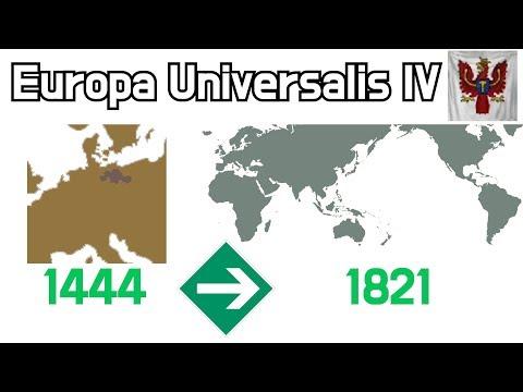 Download Eu4 Brandenburg Prussia World Conquest Timelapse
