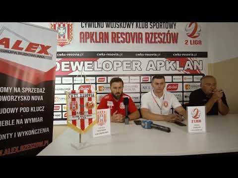 WIDEO: Apklan Resovia - Znicz Pruszków 3-0 [KONFERENCJA]