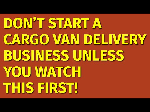 , title : 'How to Start a Cargo Van Delivery Business | Including Free Business Plan Template
