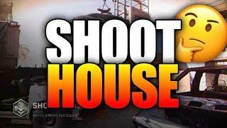 The New Shoot House Map in Modern Warfare..