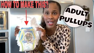 HOW I MADE A TOY STORY ADULT PULLUPS? | ADULT DIAPERS