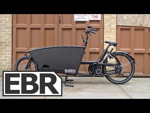 Urban Arrow Family Video Review – Electric Cargo Bike Designed for Hauling Kids Around