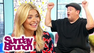Johnny Vegas Interviews Holly Willoughby | Sunday Brunch