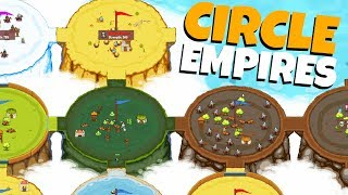 CONTROLLING the ENTIRE WORLD! - Circle Empires Gameplay