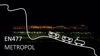 Travel with EN477 Metropol Train / Cestování vlakem Metropol / Utazás az EN477 Metropollal [#147]