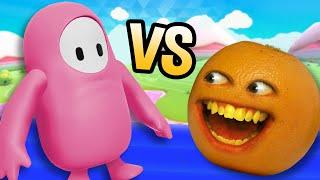 Annoying Orange vs Fall Guys!