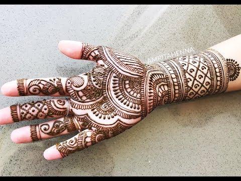 Download Beautiful Karvachauth Mehndi Henna Full Rajasthani Style