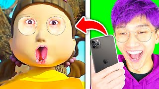 FUNNIEST SQUID GAME APPS EVER!? (NEW GAMES!)