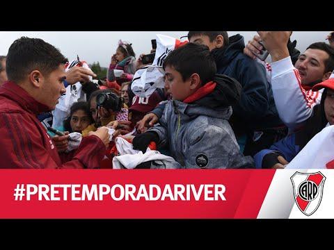 ¡River somos todos! Jugadores e hinchas, juntos en San Martín de Los Andes