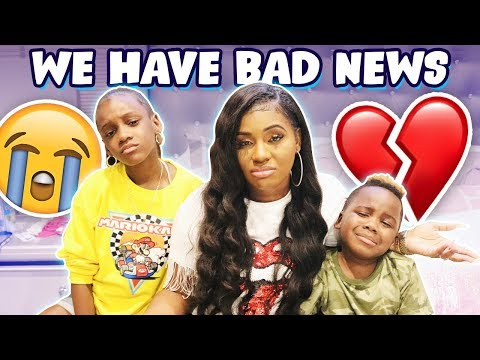 WE HAVE BAD NEWS!!!