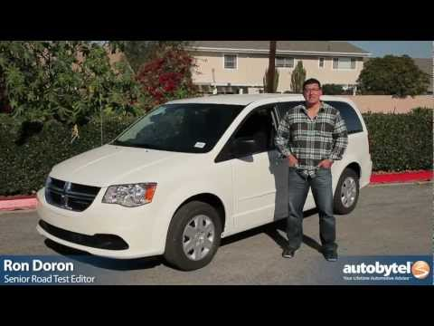 2012 Dodge Grand Caravan: Video Road Test and Review