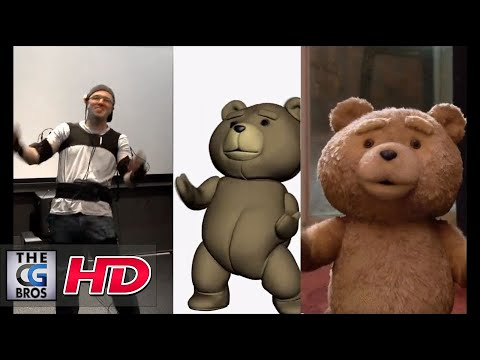 """CGI VFX Behind The Scenes : """"Ted"""" Using the Mocap system MVN"""