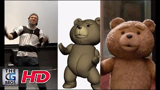 """CGI VFX Behind The Scenes : """"Ted"""" Using the Mocap system MVN 