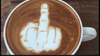WORLD'S BEST LATTE ARTIST   Broke Thai Student Changes Coffee Scene Forever!!!