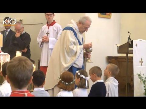 La première communion : le témoignage de la célébration (2/3)