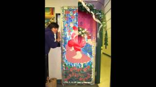 Simple Christmas Door Decorating Contest Ideas