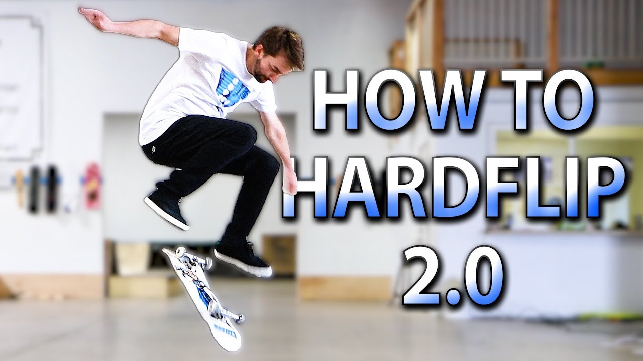 HOW TO HARDLFLIP THE EASIEST WAY TUTORIAL 2.0 - Braille Skateboarding