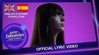 Wiktoria Gabor   Superhero   Poland🇵🇱   Lyric Video (English & Español Lyrics)   JESC 2019