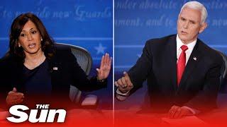 Highlights from the 2020 Vice Presidential Debate in Utah