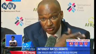 CBK Governor Dr Patrick Njoroge rules out a return to old unregulated regime on taxes